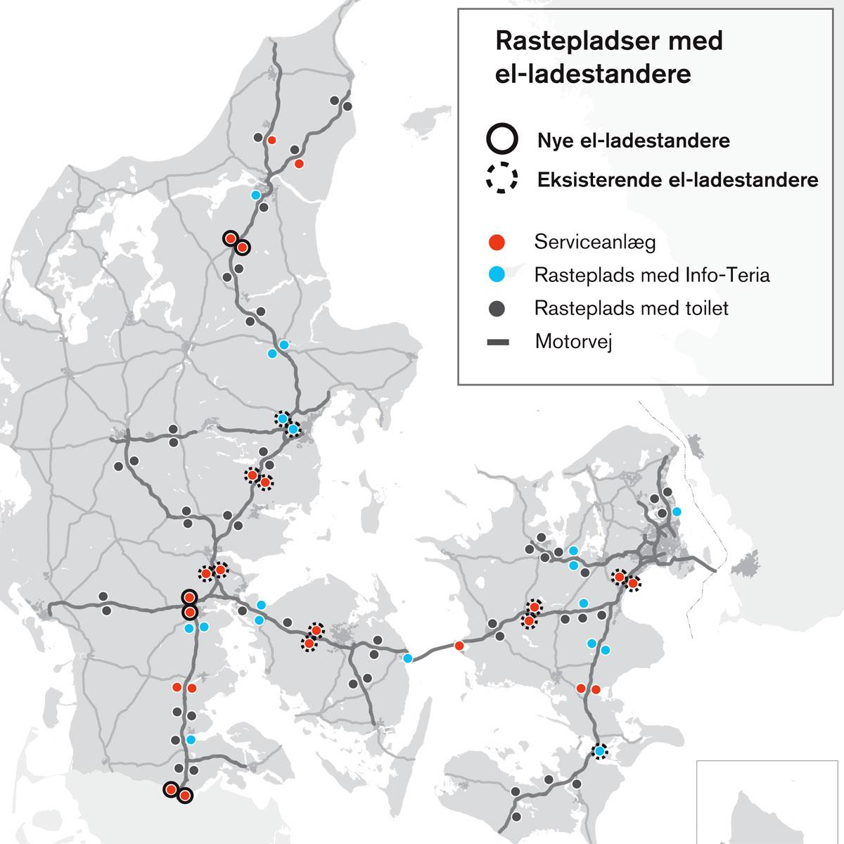 Jyske Motorveje Bliver Elektriske Fdm