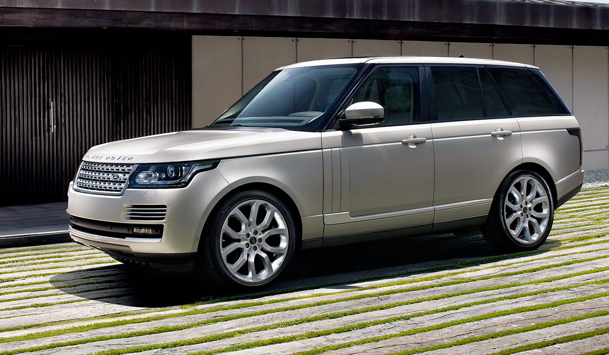 Land rover viser range rover konge fdm for Garage land rover brest