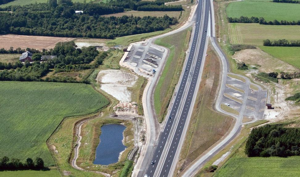 Bilister får rasteplads på jysk motorvej | FDM