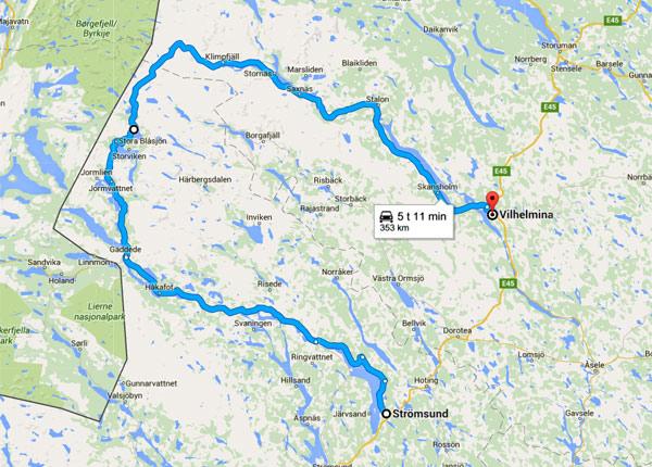 Vildmarksvejen Langt Mod Nord Klar Til Turister Fdm