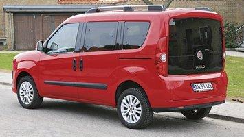 Nye Der er plads til 7 i Fiat Doblo. Læstesten nu | FDM QR-65