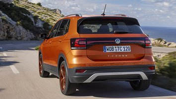 VW T-Cross set bagfra
