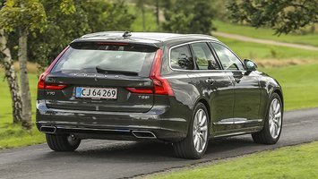 Volvo V90 plugin set bagfra