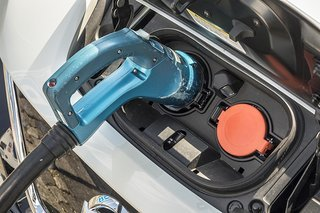 Nissan Leaf lader