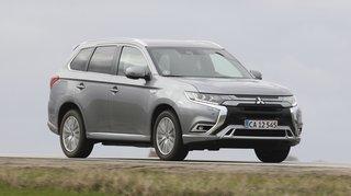 Mitsubishi Outlander er en stærk plugin hybrid