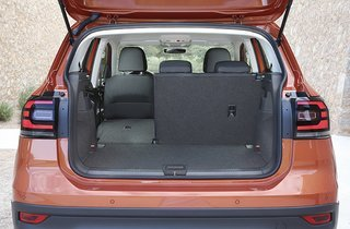 Fleksibelt bagagerum i VW T-Cross