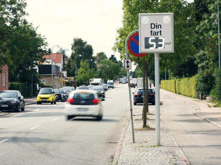 overskridelse af fartgrænser
