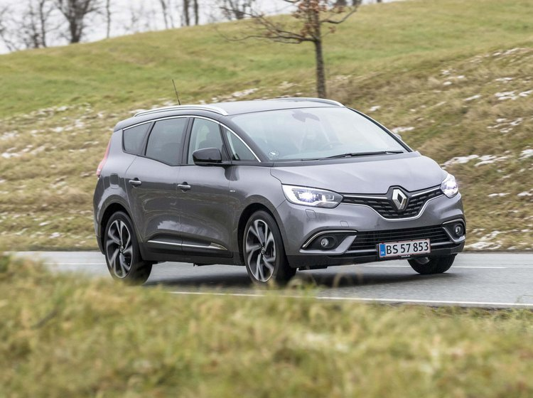 Renault Grand Scenic forfra