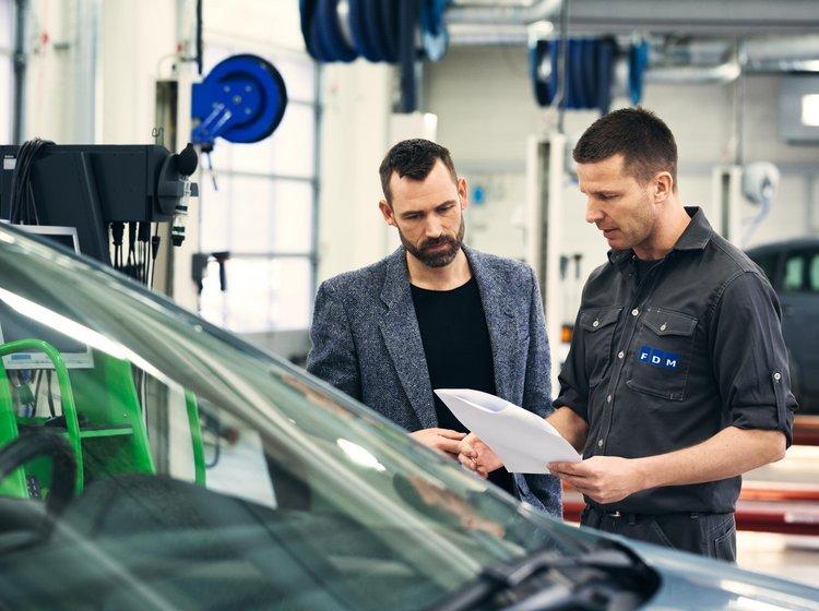 indregistrering af brugt bil
