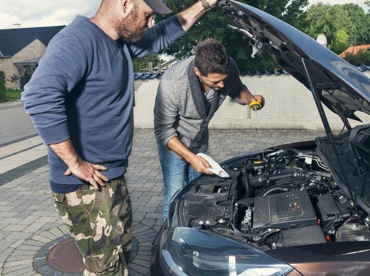 hvad olie bruger min bil