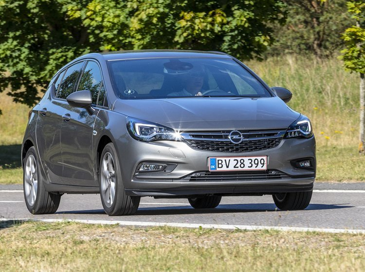 Opel Astra forfra