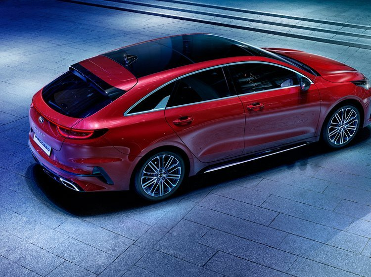 Kia Proceed er en shooting brake.