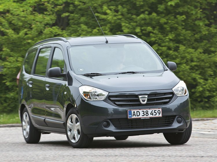 Dacia Lodgy forfra