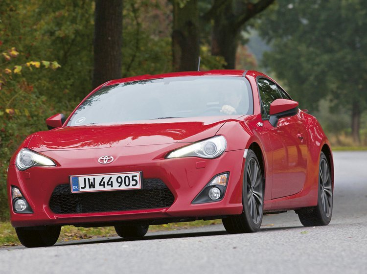Toyota GT 86 forfra