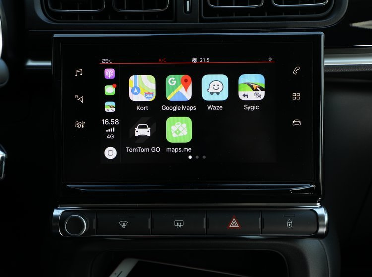 GPS apps til Apple CarPlay | FDM