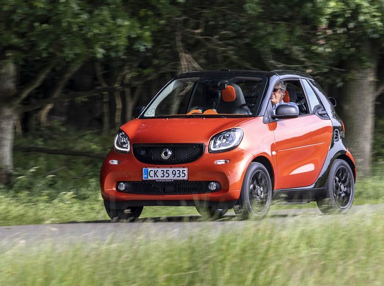Smart fortwo Cabrio set forfra