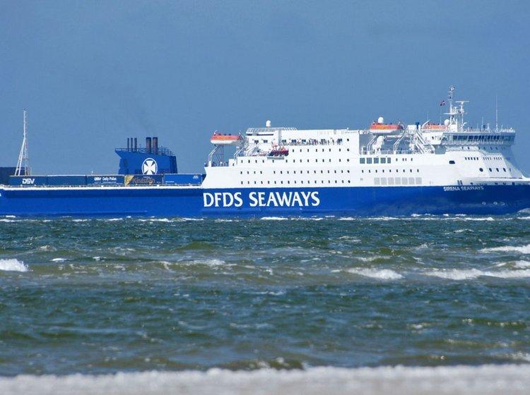 sejle til england fra danmark
