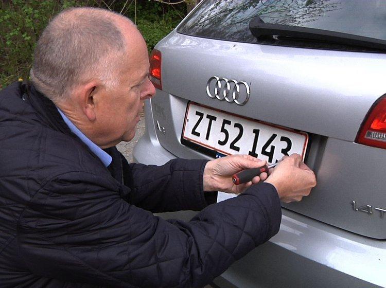 find bil på nummerplade