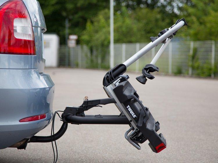 cykel på bil