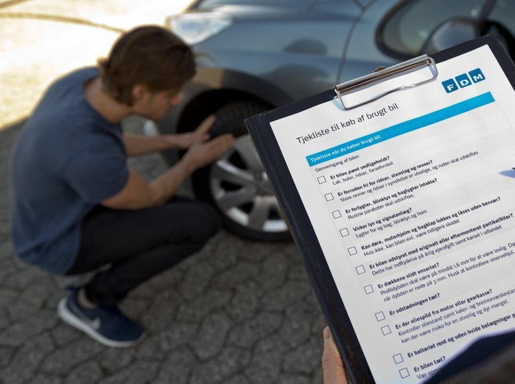 Tjekliste til køb af brugt bil | FDM