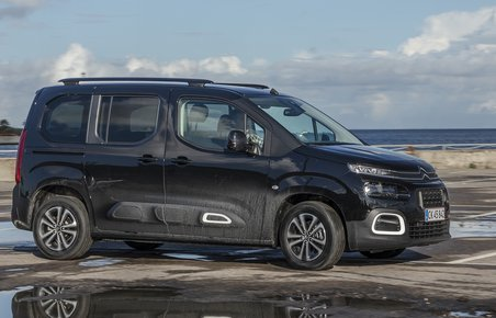 Citroën Berlingo set forfra