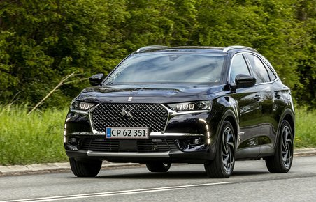 DS 7 Crossback set forfra